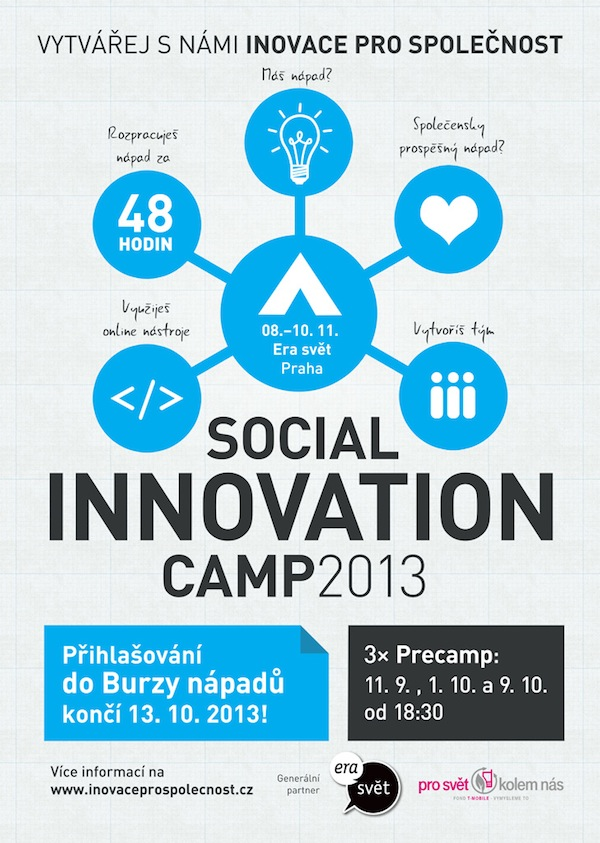 Social Innovation Camp 2013 plakát
