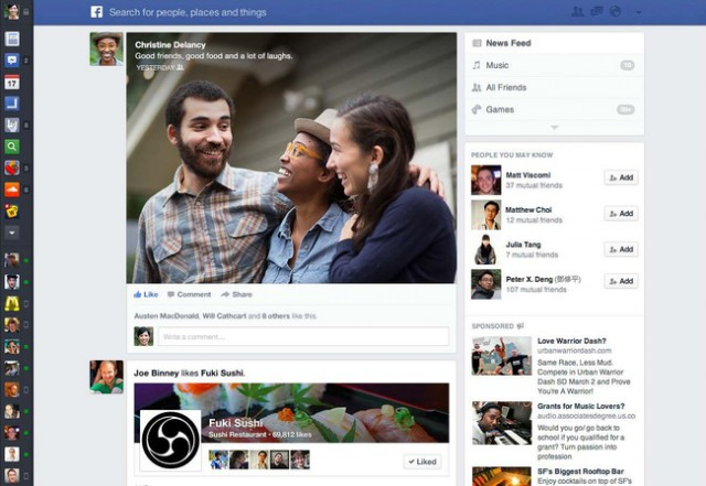 2013 news feed redesign