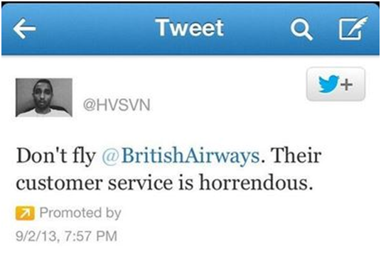 tweet britishairways