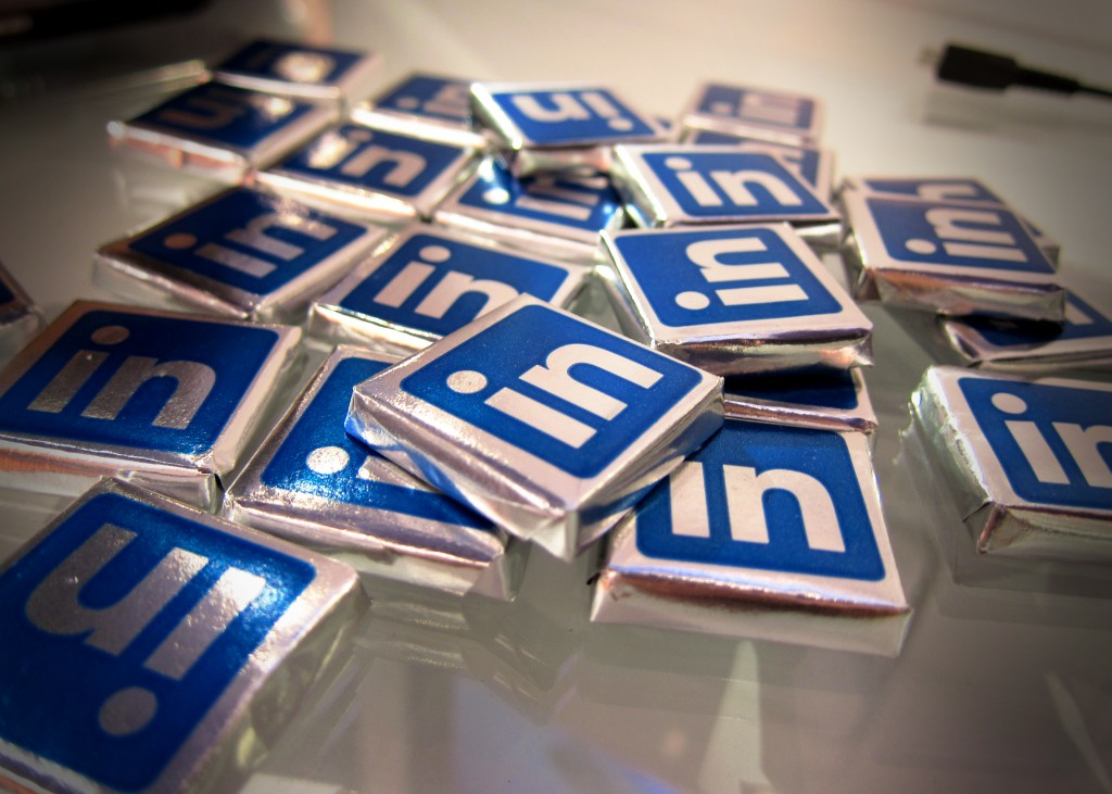 Linkedin Chocolates. Zdroj: Flickr.com, Nan Palmero