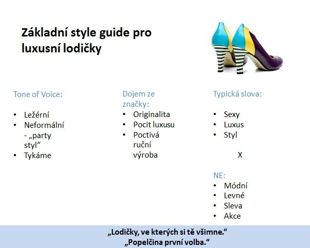 lodičky style guide