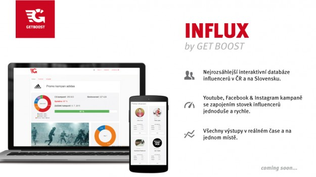Influx by Get Boost