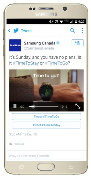 twitter conversational ads timetogo