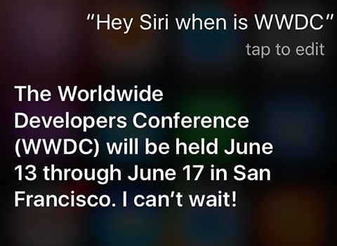 wwdc2016 - IOS10 - apple - siri - radek199