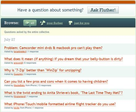 Ask Fluther!